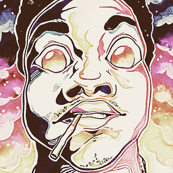 Chance The Rapper Art Acid Rap Poster