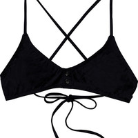 Island Punk Criss Cross Swim Top | RVCA