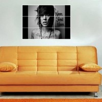 "CHRISTOFER DREW 35""X25"" INCH MOSAIC WALL POSTER CHRISTOPHER N2 NEVERSHOUTNEVER"