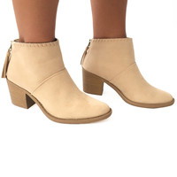 Apache Booties In Cream