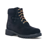 OFF-WHITE x Timberland Velvet Hiking Boots in Black | FWRD