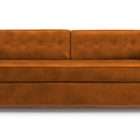 Raine Leather Sleeper Sofa by Joybird
