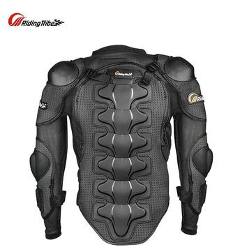 Trendy Riding Tribe Motorcycle Racing Body Armor Jacket Off-Road Safety Protection Motocross Clothing Chest Spine Protector Gear AT_94_13