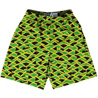 Tribe Jamaica Party Flags Lacrosse Shorts
