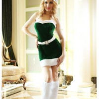 Stunning Velvet Noel Christmas Dress