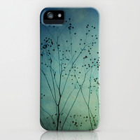 Fleeting Moment - Blue Shades iPhone & iPod Case by Olivia Joy StClaire