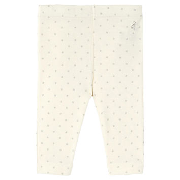 Petit Bateau Baby Girls Ruffled Leggings