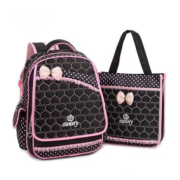 School Bag Nylon Children School Backpacks Set Princess primary school Girls Backpacks High Quality Backpack