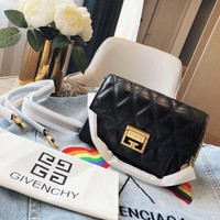 Givenchy   Women Leather Shoulder Bag Shopping Satchel Tote Bag Handbag