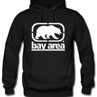 bay area front Bear Hoodie