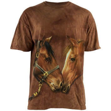 Howdy Horse Tie Dye Adult T-Shirt