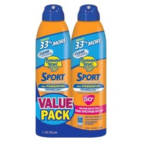 Banana Boat Sport Performance Sunscreen Spray with SPF 50+ - 8 oz