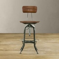 Vintage Toledo Chair Antiqued Green | Bar  Counter Stools | Restoration Hardware