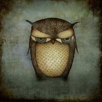 The Owl by majalin on Etsy