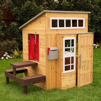 KidKraft Modern Outdoor Playhouse (Espresso)