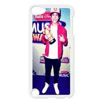 austin mahone X&T DIY Snap-on Hard Plastic Back Case Cover Skin for iPod Touch 5 5th Generation - 66