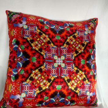 Silk Satin 16mm Pillow Cover 9 - 16x16 Inches