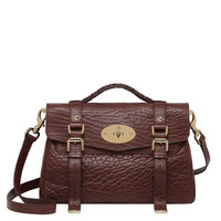 Mulberry Alexa Shrunken Calf - Oxblood Bag - ShopBAZAAR