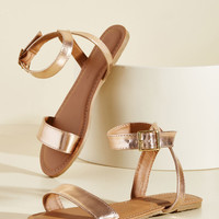 Shining Is Everything Sandal | Mod Retro Vintage Sandals | ModCloth.com