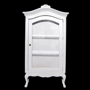 New 1/12 Dollhouse Miniatures Furniture Multifunctional Wooden Wine Cabinet - White Classic Toys Creative Best Gift Toy for Girl