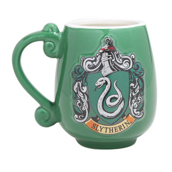Harry Potter Slytherin Crest Oval Mug