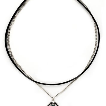 Faux Stone Layered Choker | Forever 21 - 1000170785