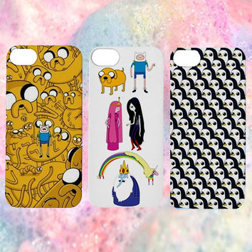 Adventure Time iPhone Case | 4/5/6 | Tumblr Cute Cool Kawaii Jake The Dog Finn The Human Gunter Princess Bubblegum *ON SALE*