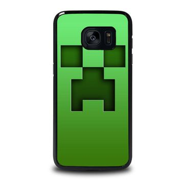 CREEPER MINECRAFT Samsung Galaxy S7 Edge Case Cover
