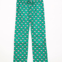 Girls Santa Whale Lazy Pants