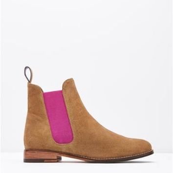 Westbourne Pink Chelsea Boot , Size Adult Size 6 | Joules UK