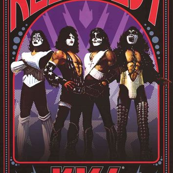 KISS Rock Gods Poster 24x36