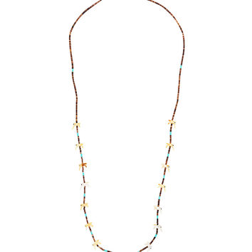 Jessie Western Hummingbird Beaded Necklace - Farfetch