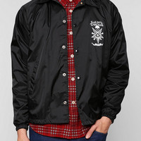 OBEY X Suicidal Tendencies Possessed Coaches Jacket - Urban Outfitters
