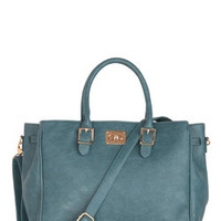 Downtown Day Trip Bag in Deep Teal