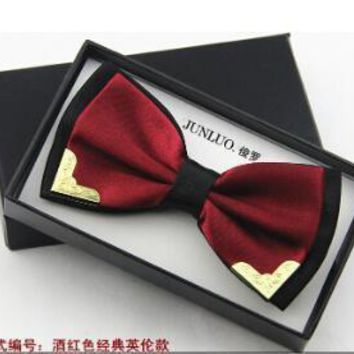 Men's Bow Ties 18 colors style Male Butterfly