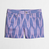 Factory printed denim short - denim - FactoryWomen's Shorts - J.Crew Factory