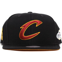 Cleveland Cavaliers Tonal N Gold 2016 Champions Snapback Hat Black