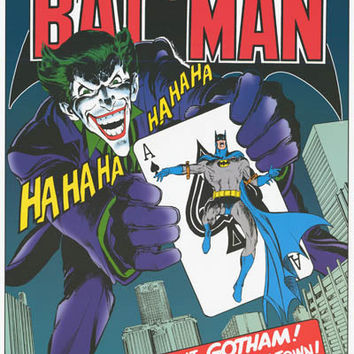 Batman The Joker's Back DC Comics Poster 22x34