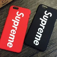 Supreme Popular Print iPhone 6 6s 6Plus 6sPlus 7 7Plus 8 8Plus Phone Cover Case