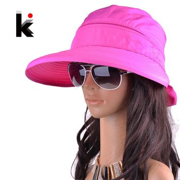 Free summer hats for women chapeu feminino new fashion visors cap sun anti-uv hat 8 colors