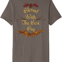 Cute Double Sided Big and Little Autumn Sorority TShirts