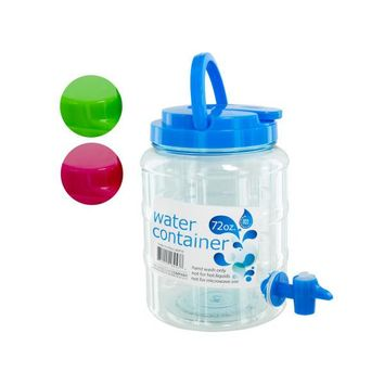 Water Container With Spigot And Handle (pack of 4)