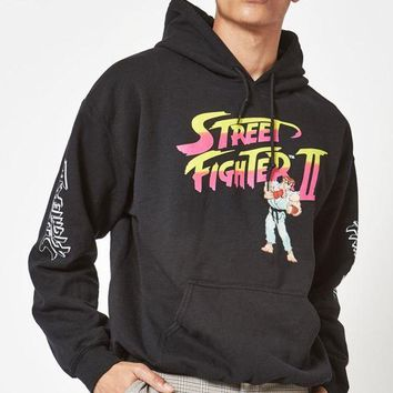DCCKYB5 Street Fighter II Pullover Hoodie