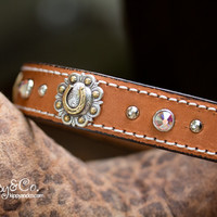 Bling Cattle Dog Collar