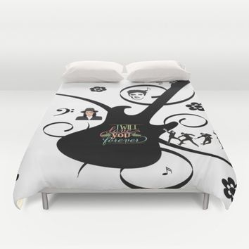 Forever Love Duvet Cover by MusyeeChan