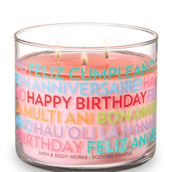 CRANBERRY PEAR BELLINI3-Wick Candle