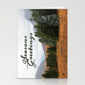 Highland Christmas bling Stationery Cards by anipani