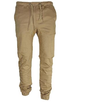 2017 New Men Leisure Causal Harem Pants Autumn Fashion Sportswear Hip Hop chinos Trousers Joggers Cotton Sweatpants Elastic Cuff