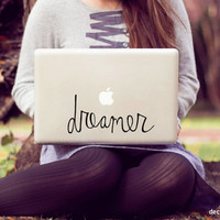 large dreamer laptop decal