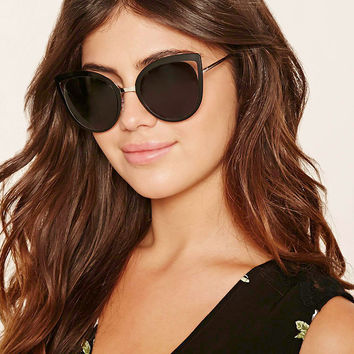 Cutout Cat Eye Sunglasses